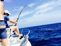 地中海钓鱼