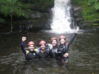 Canyoning in Artziniega levels II and III