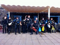 Immersione di gruppo a Lanzarote