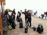Preparazione del safari subacqueo