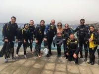 Sottomarini prima dell'oceano a Lanzarote