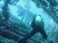 输入海底废墟