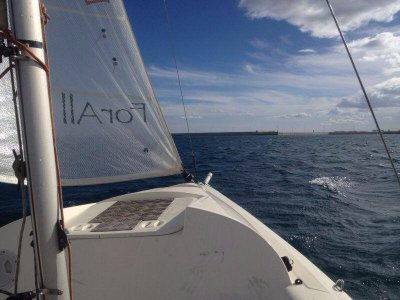 乘船游览马拉加湾。 1小时