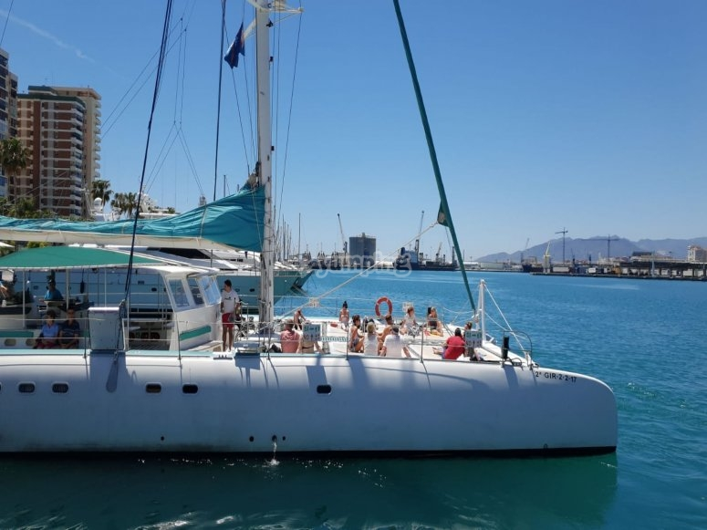Sailing in Valencia