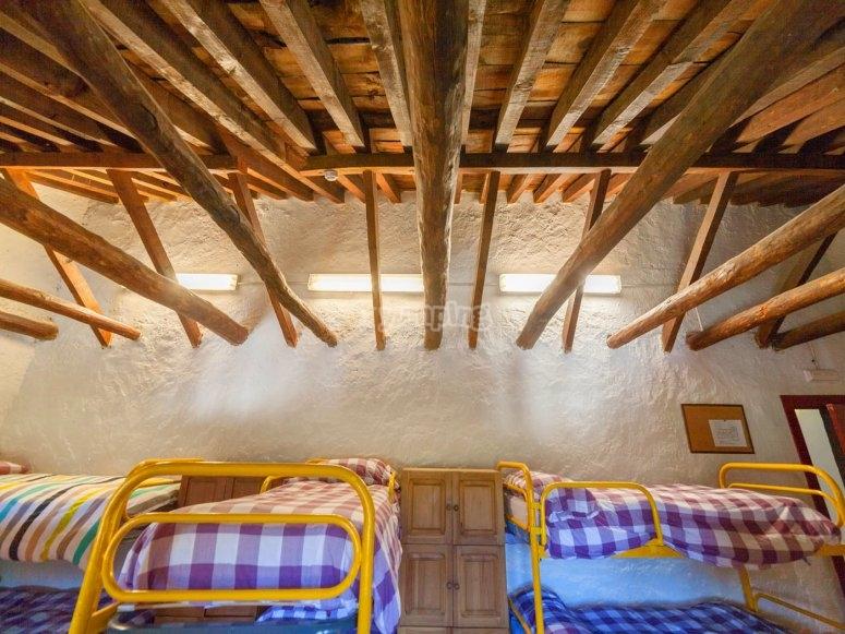 Habitaciones compartidas con literas