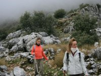 explorando el monte