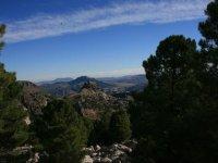 observa el paisaje desde las alturas