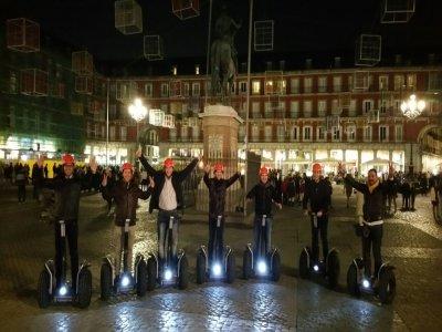 晚上在马德里乘坐赛格威90分钟
