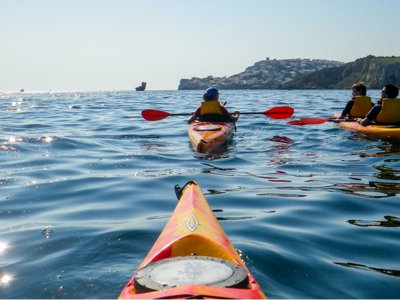 Kayak sea rental in the coast of L'Escala ,1 hour