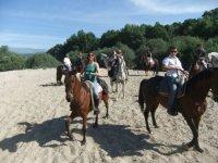 Rutas a caballo para amigos y familia
