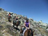 Rutas a caballo por la sierra