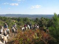 Ruta a caballo por Oropesa