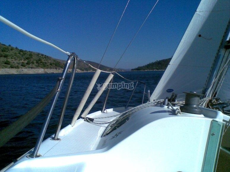Navegando en el Burguillo