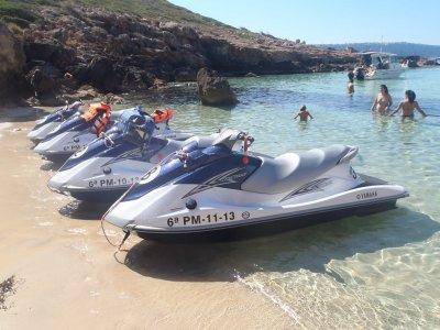 20 minutos de moto acuática en circuito en Arenal