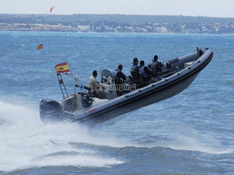 speed boat can pastilla