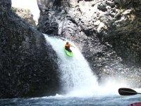 紧点下降到瀑布萨尔托