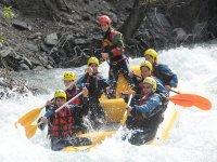 Crossing the rapids