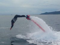 海豚跳跃由水推进
