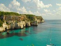 Cala en Menorca