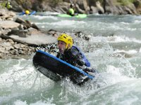 Whitewater with hydrospeed
