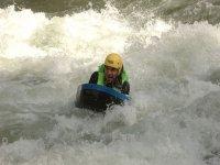 Cuidado con la fuerza del agua