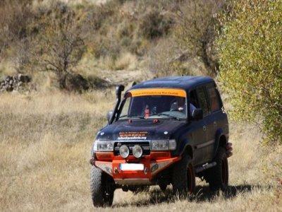 Ruta 4x4 a través de la sierra de Huesca