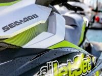 Detail of the jet ski in Alicante