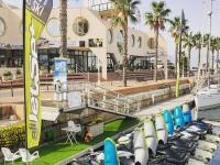 Jet skis in the Marina de Alicante