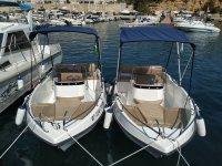 Fleet of untitled boats