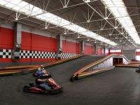 Compitiendo en circuito indoor