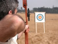 Sesión de tiro con arco en Mazaricos, 30 min.