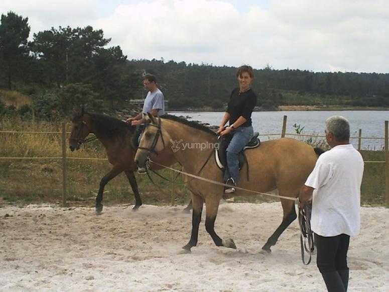 Bautismo a caballo