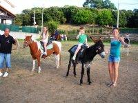 paseo en pony y burro