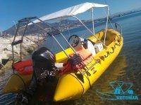 Embarcaciones techadas