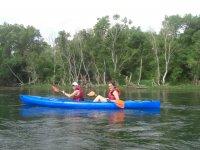 Canoas en el Ebro