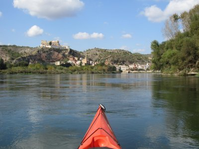 Percorso in canoa tra Miravet e Benifallet, 2 ore