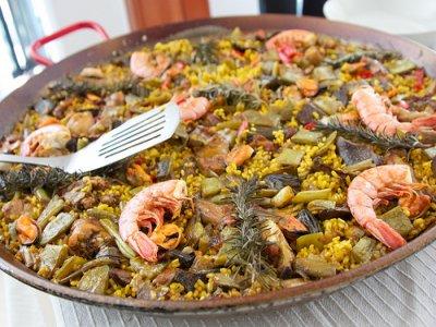 Gymkhana Gastronómica: elabora una paella, Madrid