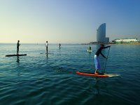 Stand Up Paddle Surf in Barceloneta - 2h