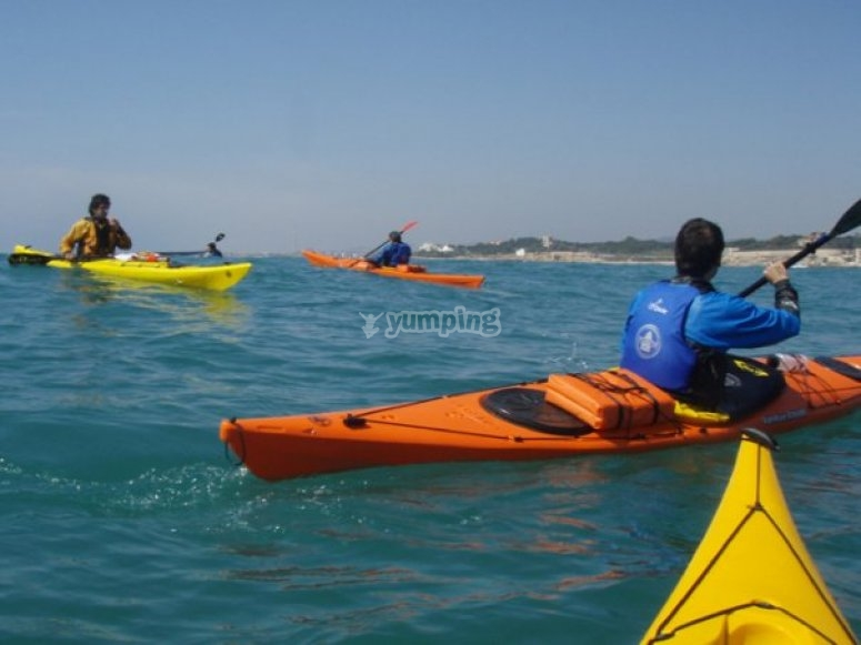 excursion open kayak
