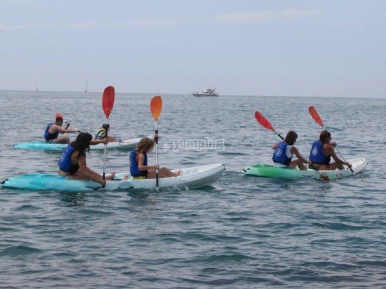 kayaks els colls