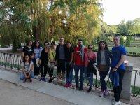 Tour y concurso en el parque del Retiro