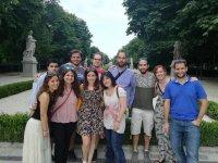 Amigos en tour por Madrid