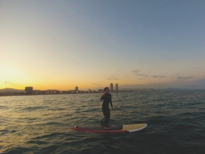 Stand up paddle boarding initiation course 4 h