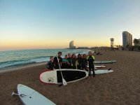 Stand up paddle surf classes, Barcelona, 2 hours