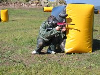 Divertidas partidas de paintball