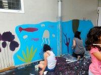 Pintando muros
