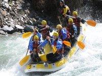 Bajando el río