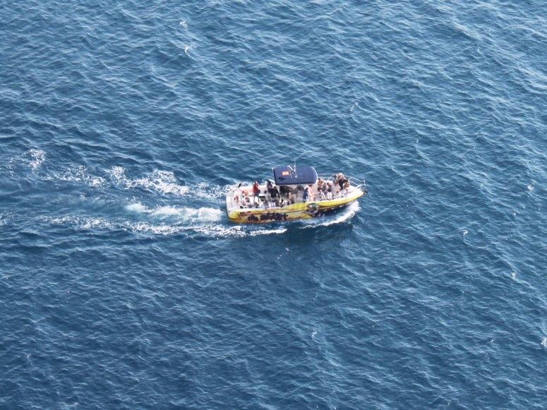 Navegando por la costa de Jávea