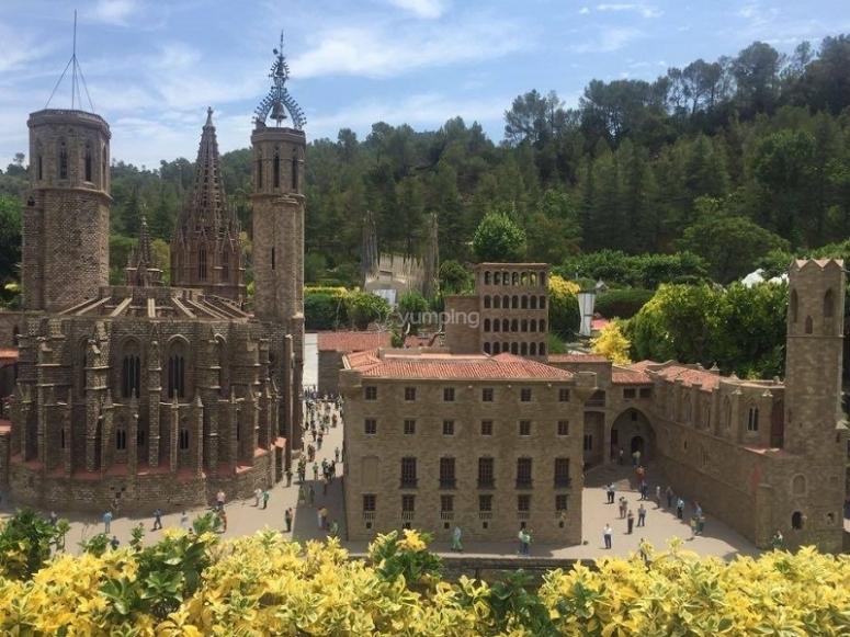 Miniature Catalunya monuments