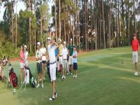 Golf camps with English